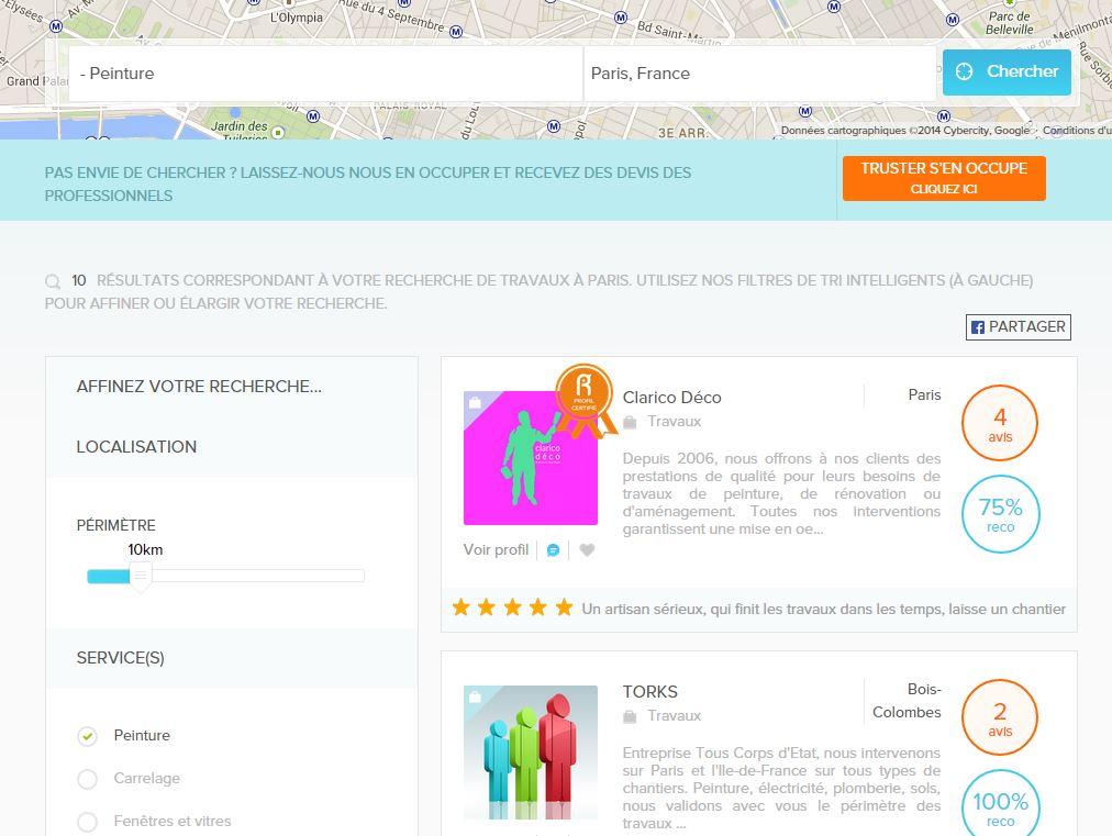 trust-fr-screenshot Truster.fr, un site web pour trouver un professionnel en toute confiance