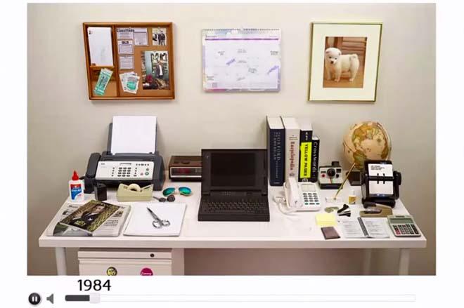 espace-de-travail-1980 L'image du jour : l'évolution de notre espace de travail depuis 1980
