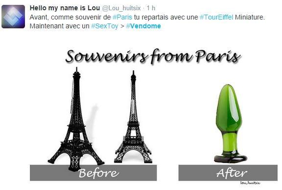 souvenir-paris-mccarthy Sculpture ou sextoy Place Vendôme ? Les réactions du web !