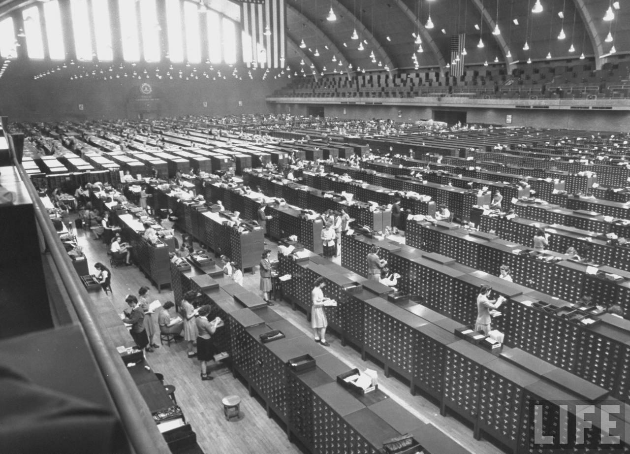 archives-wwii-fbi L'image du jour : les archives du FBI pendant la 2e Guerre Mondiale
