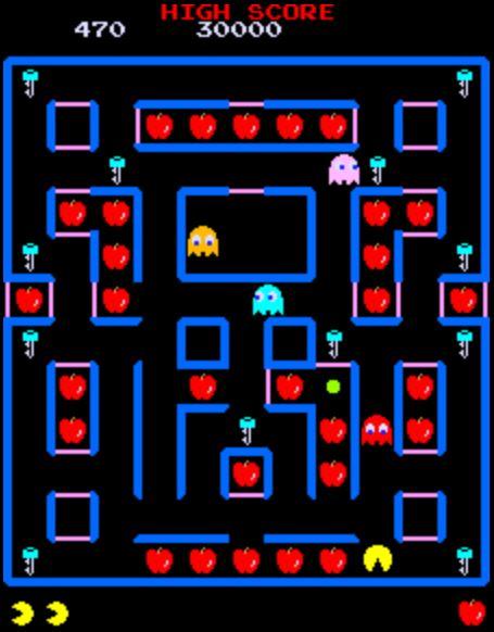 internet-arcade-super-pac-man 900 jeux d'arcades à jouer gratuitement dans votre navigateur web