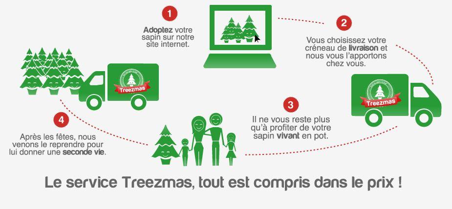 treezmas-concept Cette année, adoptez un sapin pour Noël avec Treezmas