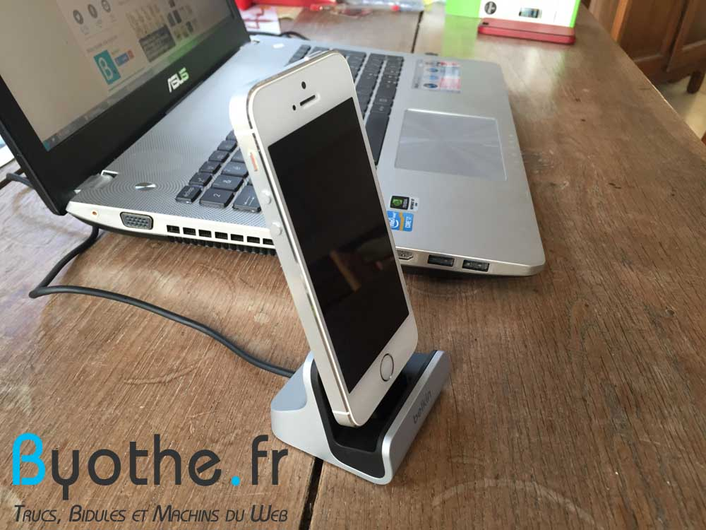 charge-sync-dock-belkin-1 Test du dock chargeur lightning pour iPhone de Belkin