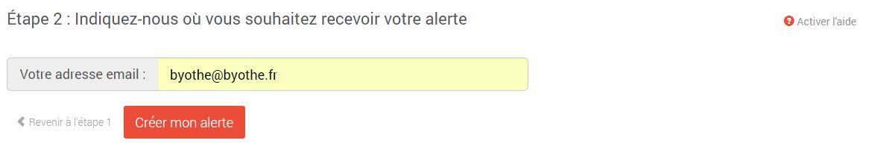 labonneoffre-creation-alerte-2 Avec LaBonneOffre.fr ne manquez plus les promos sur les produits que vous suivez !