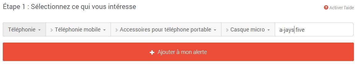 labonneoffre-creation-alerte Avec LaBonneOffre.fr ne manquez plus les promos sur les produits que vous suivez !