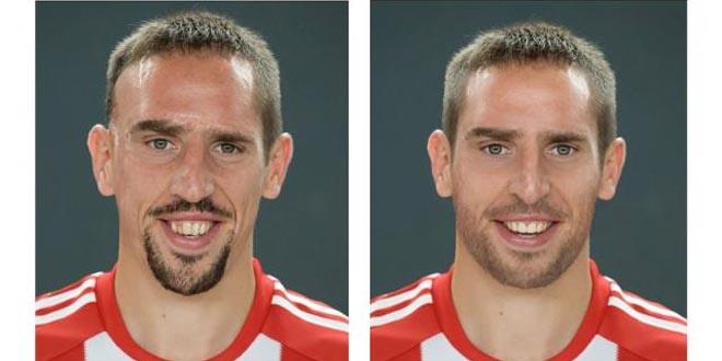 ribery-photoshope L'image du jour : Franck Ribery photoshopé !