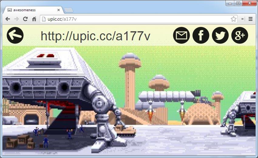 upic-byothe-exemple2 Upic vous permet de partager une photo en plein écran