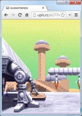 upic-byothe-exemple3 Upic vous permet de partager une photo en plein écran