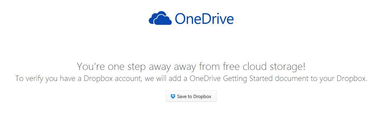 dropbox-onedrive-enregistrer 100Go de stockage gratuit sur OneDrive pour les utilisateurs de Dropbox