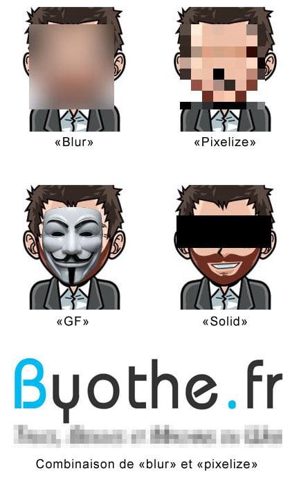 facepixelizer-exemples-byothe Flouter ou anonymiser des photos et des images en ligne