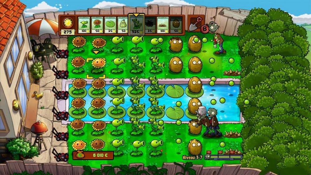 plantes-contre-zombies-pelouse Bon plan : Electronic Arts vous offre Plantes contre Zombies sur Origin