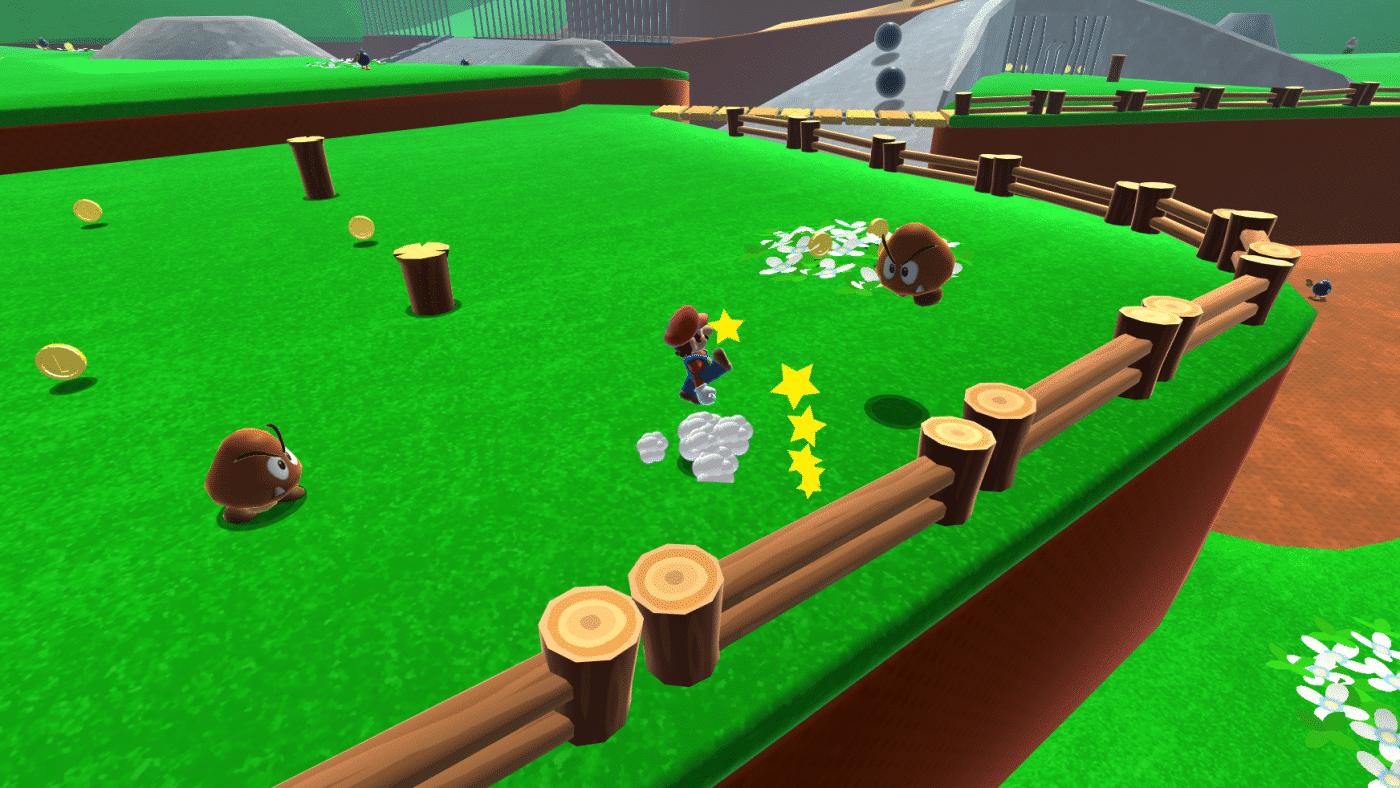 super-mario-64-bob-omb Rejouez le niveau 1 de Super Mario 64 dans votre navigateur web