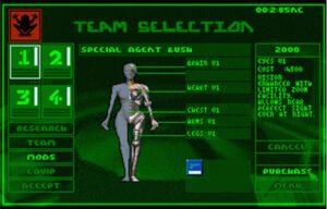 syndicate-team-selection-300x192 Bon plan : le jeu Syndicate (1993) provisoirement gratuit sur Origin