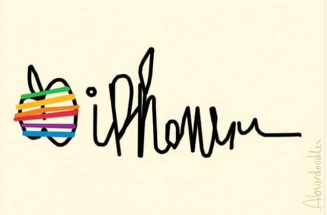 absurdoodles-apple Et si les logos des grandes marques avaient été dessinés par des médecins ?
