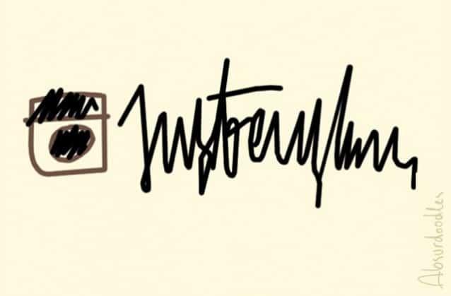 absurdoodles-instagram Et si les logos des grandes marques avaient été dessinés par des médecins ?