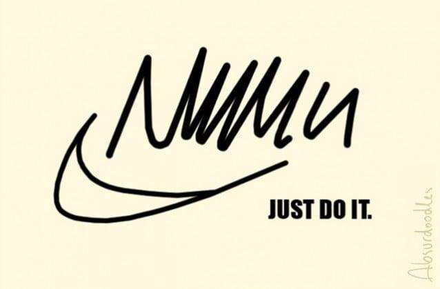 absurdoodles-nike Et si les logos des grandes marques avaient été dessinés par des médecins ?