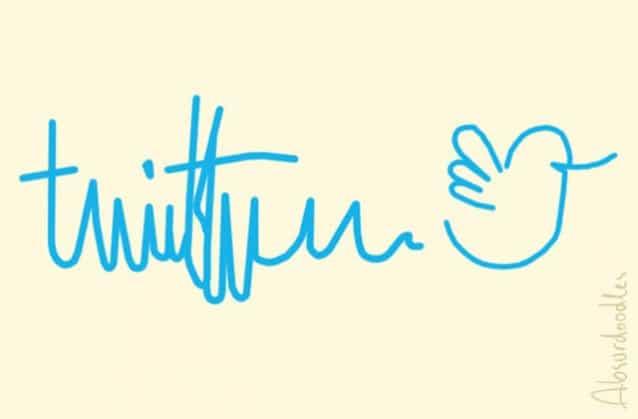 absurdoodles-twitter Et si les logos des grandes marques avaient été dessinés par des médecins ?