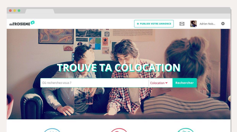 colocation-autroisieme1 Au Troisième, le site de colocation plus social, plus cool et entièrement gratuit