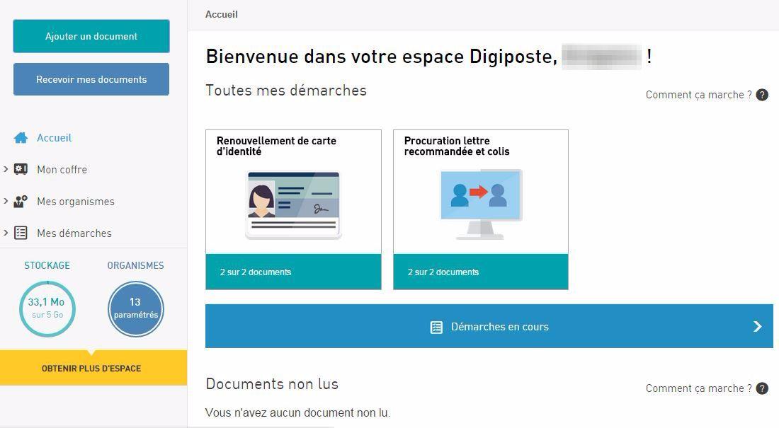 digiposte-accueil Récupérez et regroupez vos documents importants, relevés et factures grâce à Digiposte