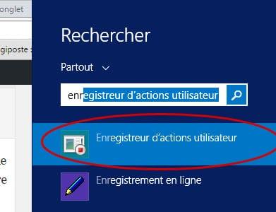 enregistreur-actions-utilisateur-1 Enregistrer les actions d'un utilisateur pour reproduire un problème sous Windows