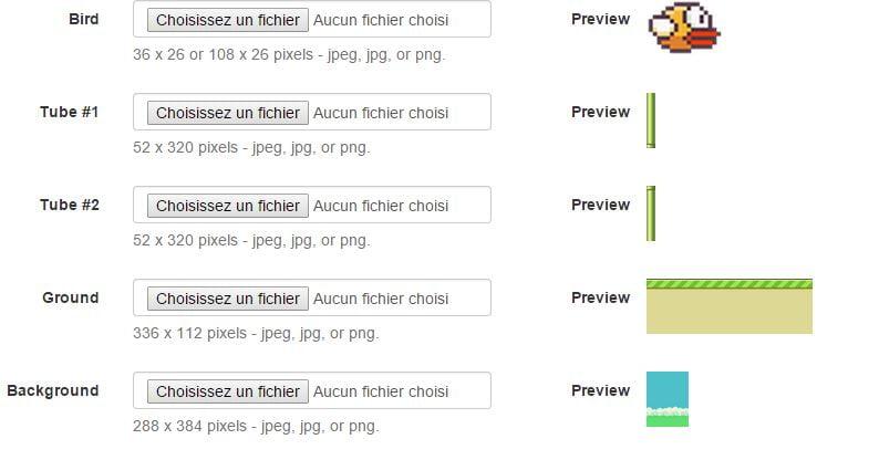 flappy-creator Créez votre version customisée de Flappy Bird avec Flappy Creator