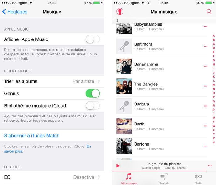 afficher-apple-music iOS 8.4 et suivants : retrouver ses playlists dans l'application Musique et autres astuces !