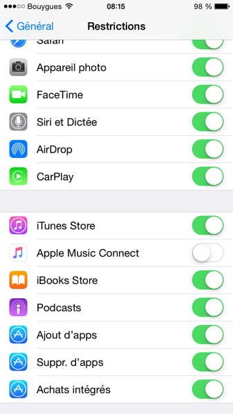 apple-music-connect iOS 8.4 et suivants : retrouver ses playlists dans l'application Musique et autres astuces !
