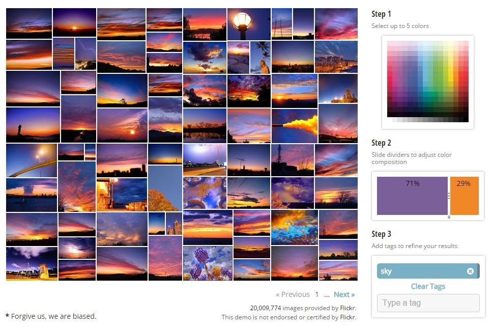 multicolr-violet-orange-sky Rechercher une image sur le web à partir des ses couleurs dominantes