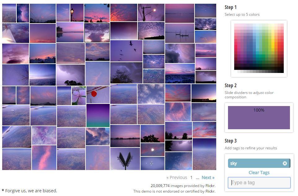 multicolr-violet-sky Rechercher une image sur le web à partir des ses couleurs dominantes