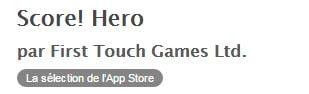 score-hero-conso-data3 Score! Hero sur iOS va faire exploser votre forfait data !