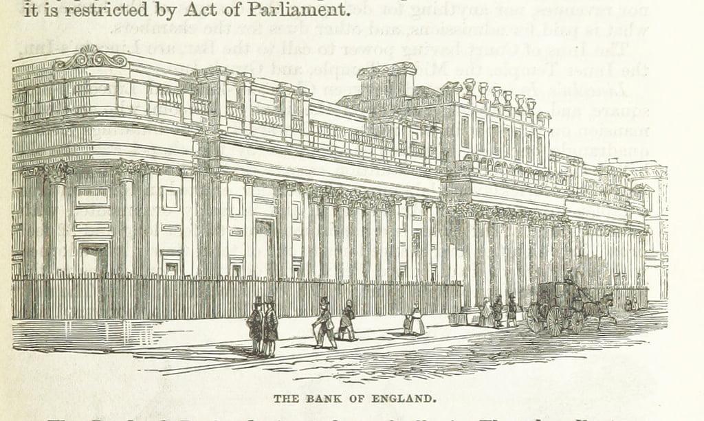 bank-of-england The British Library propose des milliers d'images libres de droit
