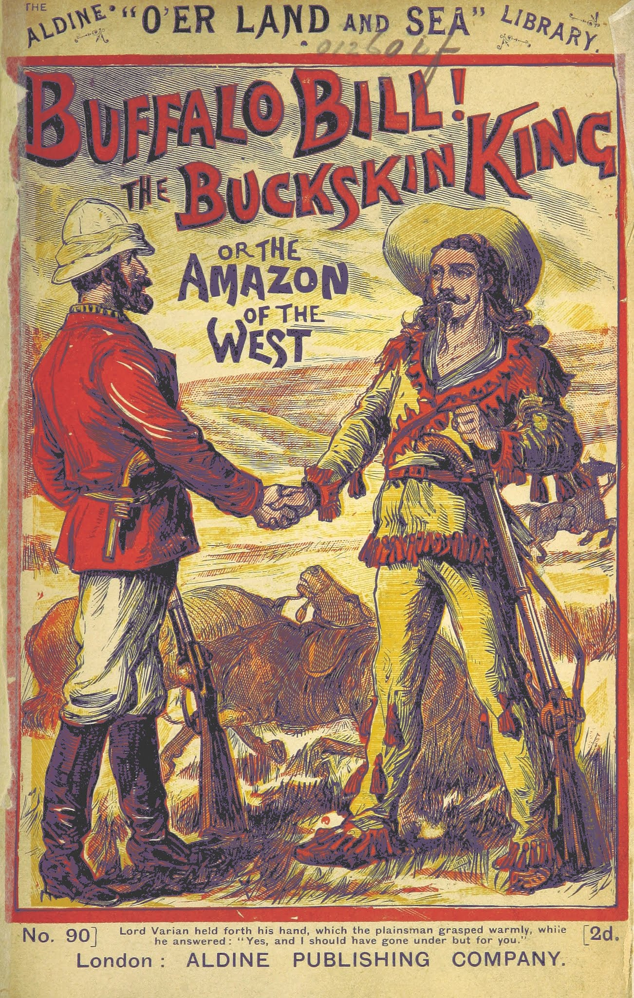 buffalo-bill The British Library propose des milliers d'images libres de droit