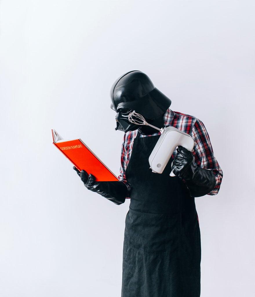 dark-vador-cuisine Photo : et si Dark Vador était un homme comme les autres ?