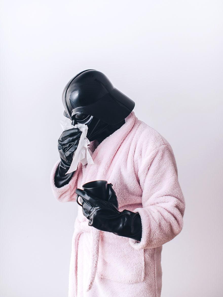 dark-vador-malade Photo : et si Dark Vador était un homme comme les autres ?