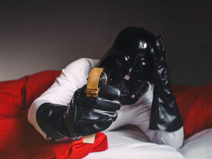 dark-vador-reveil Photo : et si Dark Vador était un homme comme les autres ?