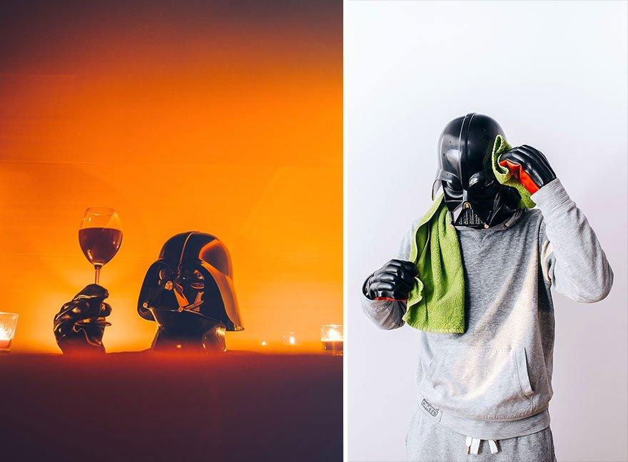 dark-vador-sport Photo : et si Dark Vador était un homme comme les autres ?