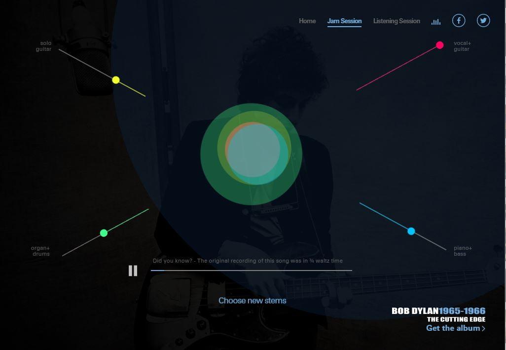 like-a-rolling-stone Entrez dans les studios d'enregistrement de Bob Dylan !