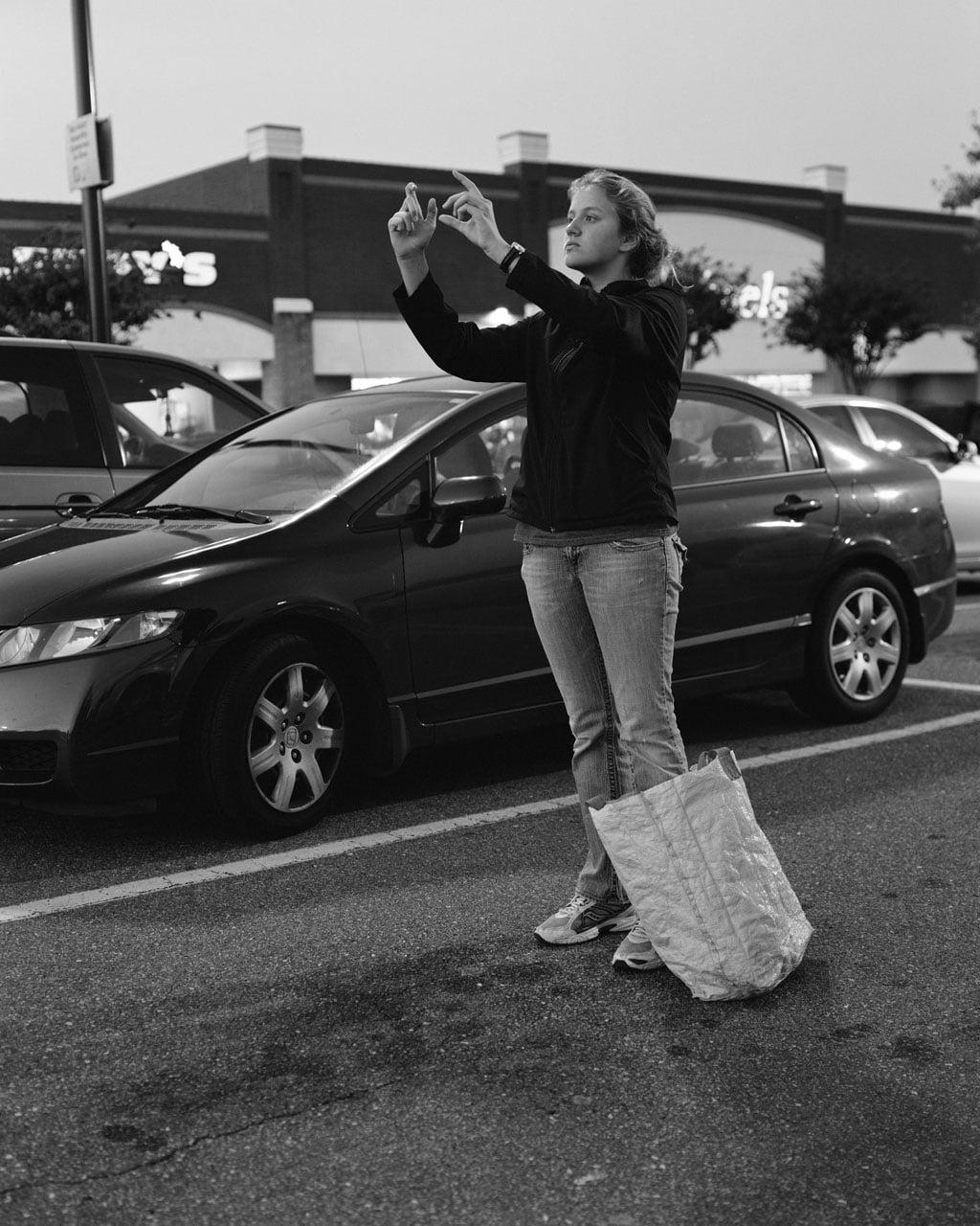 melissa Un photographe enlève les smartphones sur ses photos