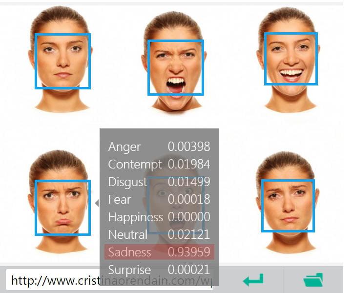 microsoft-emotion-recognition2 Microsoft propose de détecter les émotions sur les visages d'une photo