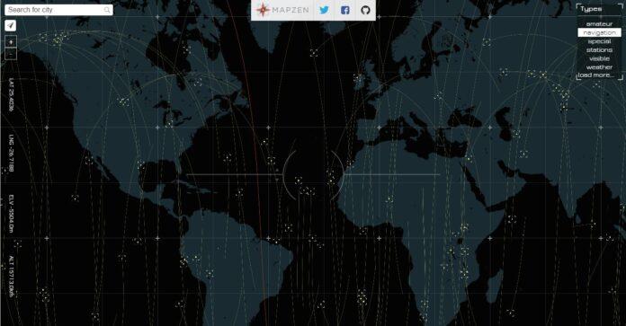 Line Of Sight : repérez les satellites qui passent au-dessus de votre tête !