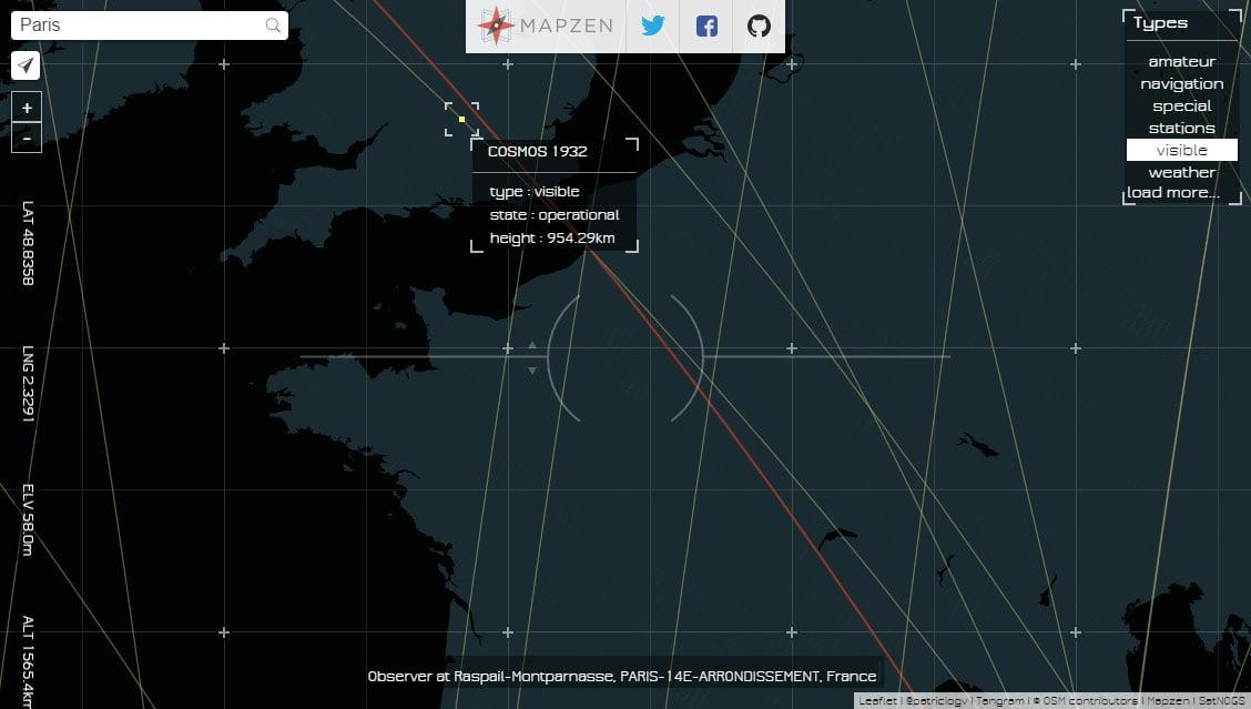 line-of-sight-paris Line Of Sight : repérez les satellites qui passent au-dessus de votre tête !