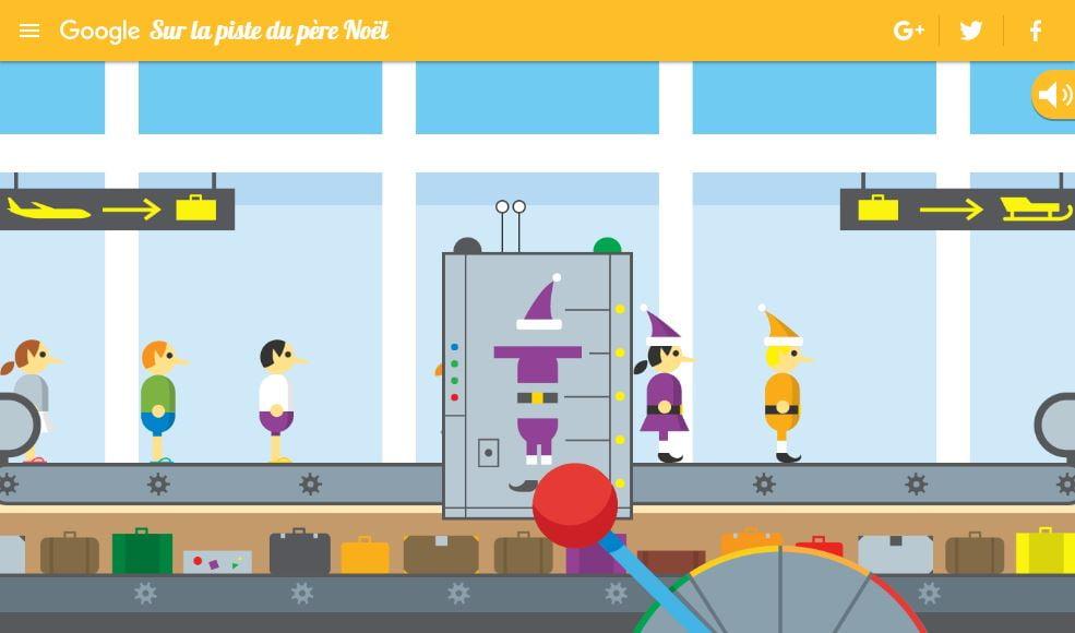 piste-pere-noel-jeu Google lance un site pour vous faire patienter avant Noël