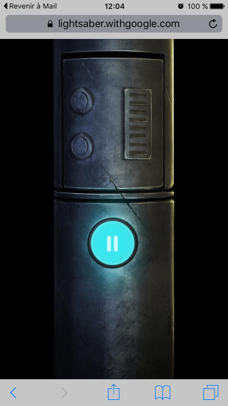 sabre-laser-smartphone Google transforme votre smartphone en sabre laser