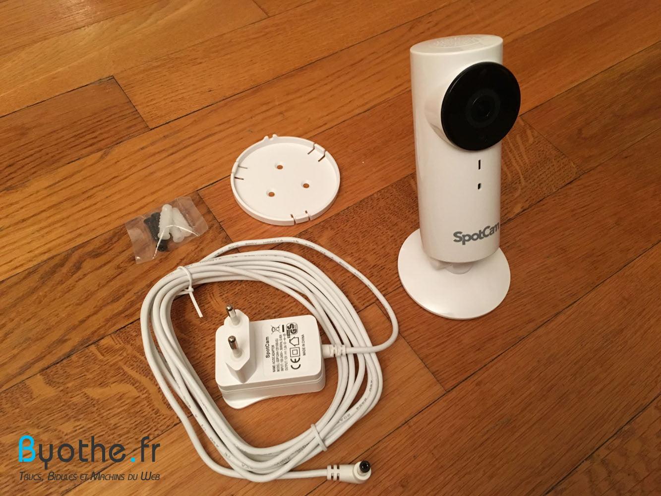 spotcam-contenu Test de la caméra de surveillance WiFi SpotCam HD