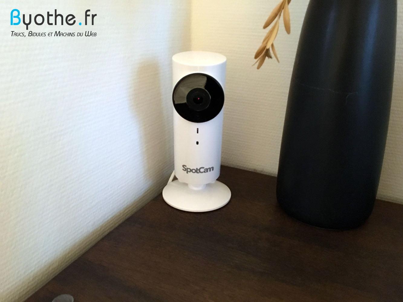spotcam Test de la caméra de surveillance WiFi SpotCam HD