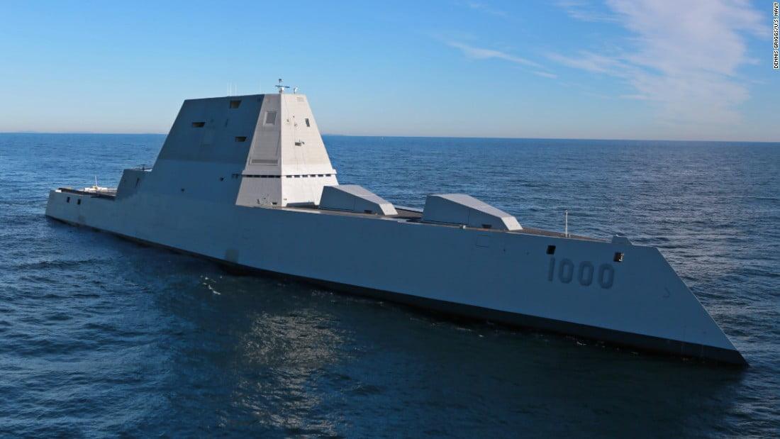 uss-zumwalt L'image du jour : le nouveau navire de guerre furtif de l'US Navy