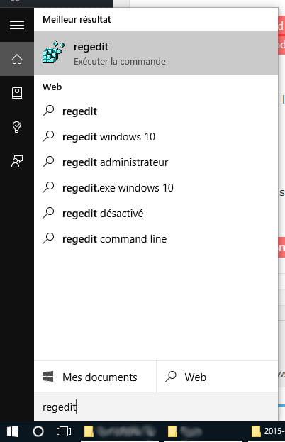 windows-regedit Activer le thème sombre caché de Windows 10
