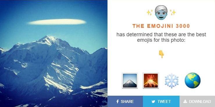emojini-montagne-e1454239030300 The Emojini : un algorithme qui trouve les emojis représentant le mieux vos photos