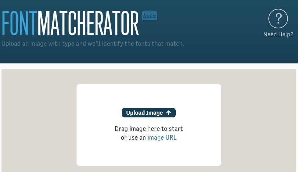 font-matcherator 4 outils en ligne pour identifier une police de caractères
