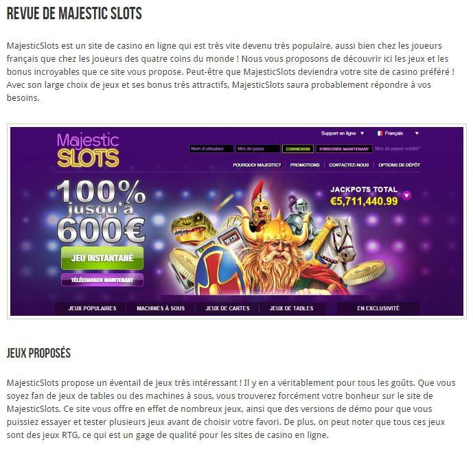 revue-casino Casinos en ligne : un site pour bien les choisir